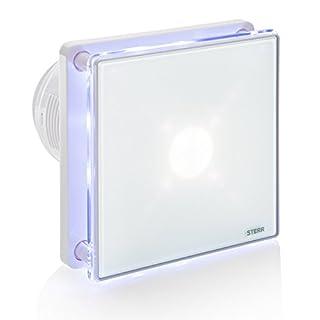 STERR - Badezimmerlüfter mit LED-Beleuchtung und Timer - BFS100LT