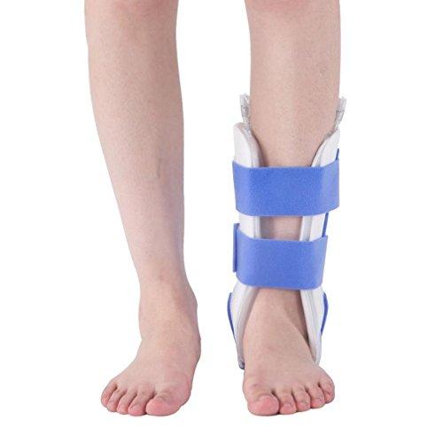 Post-chirurgie Pflege (HRRH Knöchelgelenk Feste Klammer - Ideal für Stabile Fuß-und Sprunggelenkfraktur, Achillessehne Chirurgie, akute Knöchelverstauchungen, Post-OP-Pflege Airbag-Schutz)
