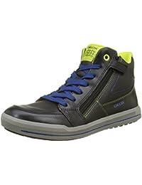 Geox Unisex-Erwachsene J Arzach Boy F Hohe Sneaker