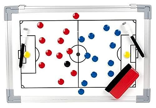 b+d Coachboard Professional calcio inclusi magneti lavagna magnetica strategia tattica bordo (90 x 60 cm)