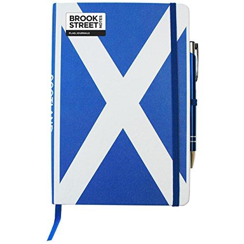 Scotland Flag Notebook - Hardback A5