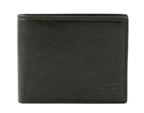 Men's wallet in leather Avirex G40-91 Black, occasion d'occasion  Livré partout en Belgique