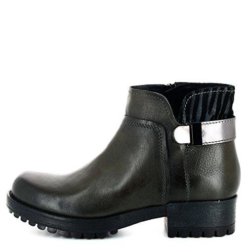 CAF NOIR GH135 Grau PLZ Boot-Schuhfrau Grigio