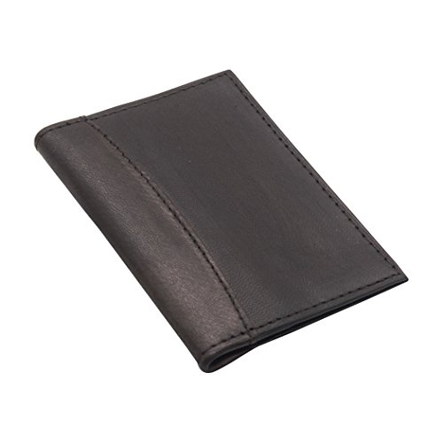 E LV Smart small pocket wallet purse business credit debit card case holder genuine high quality leather - Dark Brown.  available at amazon for Rs.199