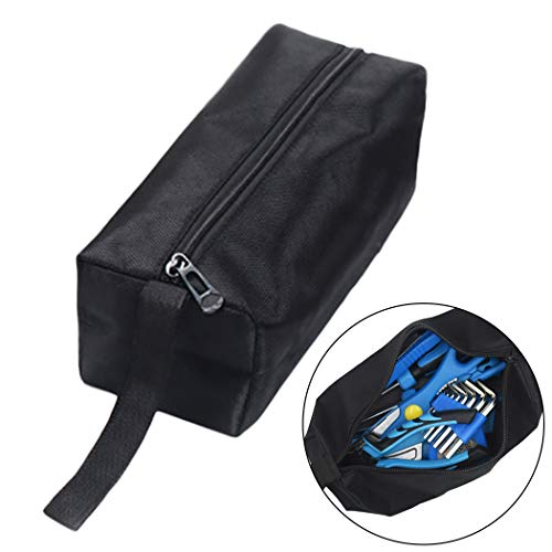 Outgeek Tool Pouch Multipurpose Heavy Duty Zippered Tool Storage Pouch Tool Pouch Bag