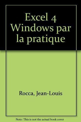 Excel 4 pour windows. Pochette info
