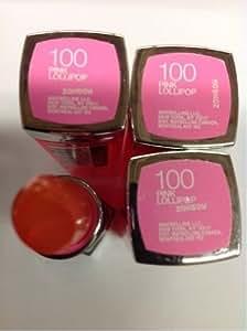 Maybelline Color Sensational lipstick (100 Parisian Pink)