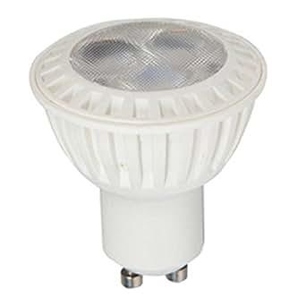 V-TAC 1635 - VT-2828, faretto LED 7 W GU10 da incasso, 220 - 240 V, COB LED, 6000 kelvin, luce bianca fredda