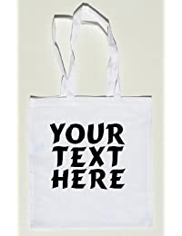 Personalisierte weiße Umhängetasche