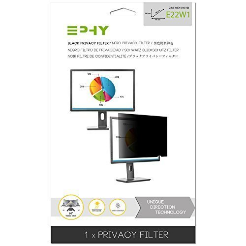 EPHY Anti-Glare Privacy Filter for 22