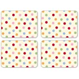 Cooksmart Pack of 4 Placemats, Spots