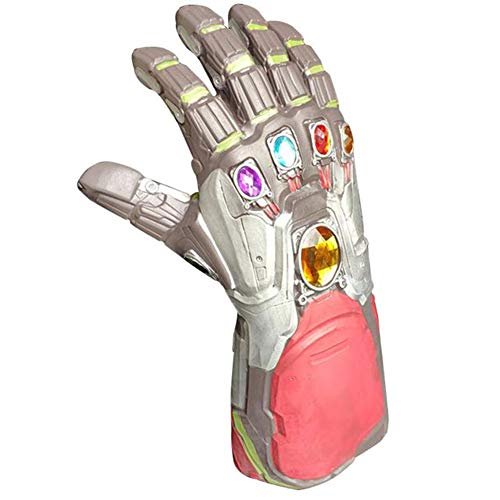 Frühling Snowboard Handschuhe (Leuchtende Handschuhe, Adult Latex Cheer Party Items,Silver,notemitting)