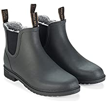 Tretorn Woman Chelsea Classic Winter Rubberboot Black