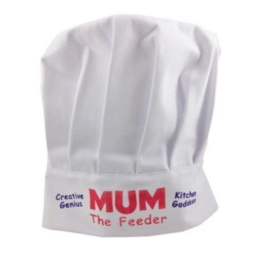 """Boxer Gifts Kochmütze mit Aufdruck """"Mum The Feeder"""""""