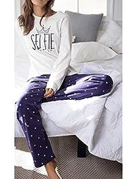 ADMAS - Pijama Mujer Selfie Mujer
