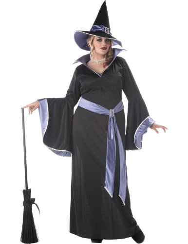 Plus Size Glamour Witch Incantasia Fancy dress costume 1X (Hexe Incantasia)