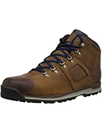 Timberland Mens Earthkeepers Scramble Mid Leather Boots Brown 7.5 D(M) US