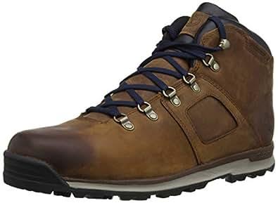 Timberland Ek Gt Scramble Mid Leather Waterproof, Chaussures de randonnée montantes homme, Marron, 40