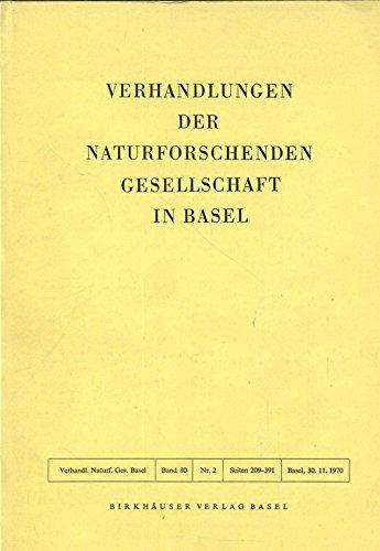 Die Zusammenhänge von Grosshirnstriatum, dorsalem Thalamus und Tectum opticum bei Echsen, in: VERHANDLUNGEN DER NATURFORSCHENDEN GESELLSCHAFT IN BASEL, Band 80, 2/1970.