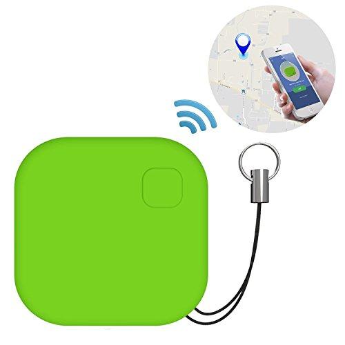 Bluetooth Tracker, Opamoo Wireless Tracker Schlüssel Schlüsselfinder Pet Locator Geldbörse Gepäck Wallet Phone Tracker - Grün