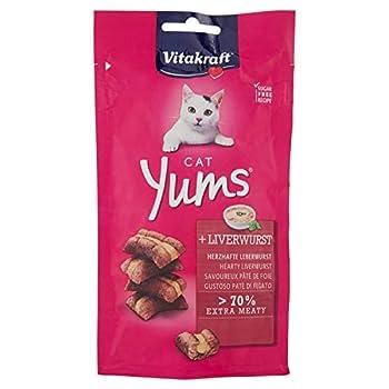 Vitakraft Cat YUMS Pâté de Foie Friandise pour Chat 40 g