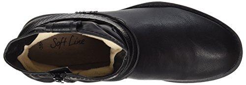 Softline Ladies 25461 Boots Black (nero)