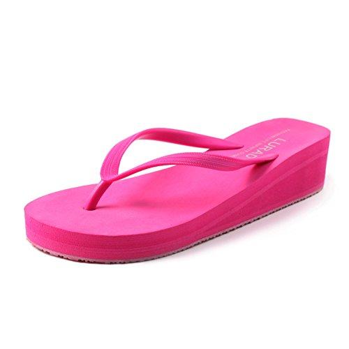 spiaggia infradito/Anti-scivolo con piattaforma sandali e ciabatte ladies summer A