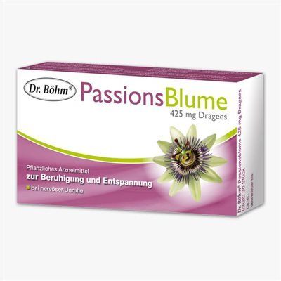 Dr. Böhm Passionsblume 425 mg, 60 St. Dragees