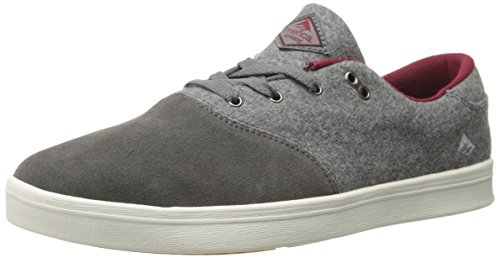 Emerica Herren The Reynolds Cruiser Lt, grau/rot, 39 EU M - Reynolds Cruisers