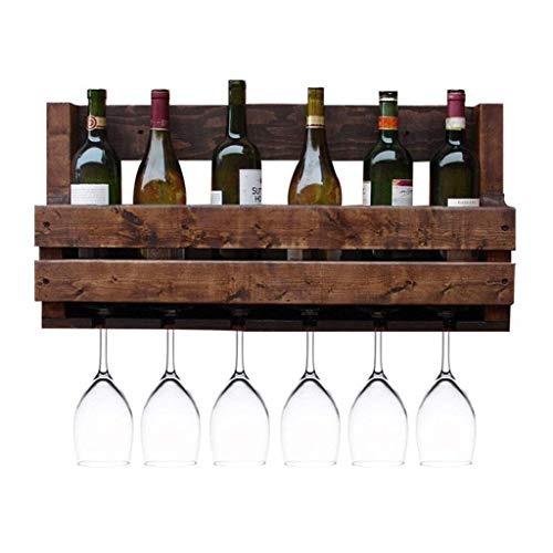 70 cm Wand Weinregal Natürliche Kiefernholz Multifunktions Wandbehang Lagerregal Weinflaschen Halter Hängen Auf Den Kopf Tasse Gläser Rack Wanddekoration