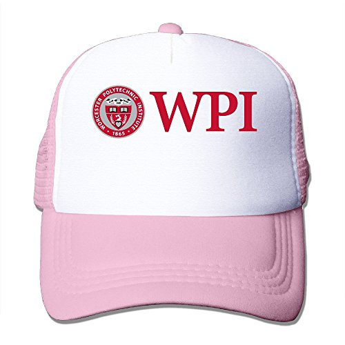YSC-Dier Custom Casual Two-toned Worcester Polytechnic Institute Basketball Hat Caps Black Pink
