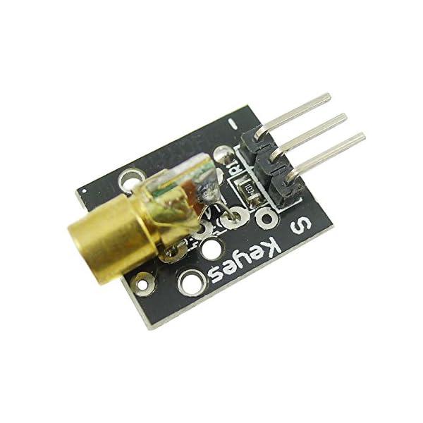 41c8n3wObhL. SS600  - Aihasd KY-008 650nm 5V módulo de Sensor láser para Arduino con demo código