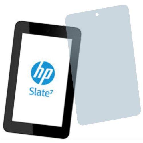 2X Entspiegelnde Premium Bildschirmschutzfolie Displayschutzfolie von 4ProTec für HP Slate 7 Plus Nvidia Tegra Note - Nahezu blendfreie Antireflexfolie