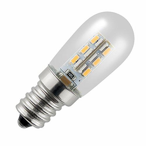 ZWL Led Kleine Glühbirne, Energiesparlampen Kühlschrank Licht E12 / E14 Lichtquelle Glühbirne Mikrowelle Licht Lichtquelle Warmes Gelb Weißes Licht 2W Haushalt Ruß Maschine Glühlampe Nähmaschine Glühbirne Beleuchtung Lichtquelle 4,5-6cm , Bringe Licht in dein Leben ( Farbe : Weißes Licht , größe : E12 ) (Glühbirne Für Mikrowelle)
