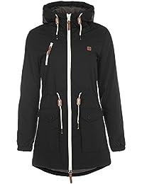 DESIRES Tilonga Damen Parka lange Jacke Winterjacke mit hochabschließendem Kragen aus hochwertigem Material