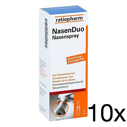 Nasenduo Nasenspray 10x10 ml Sparset inklusive einer Handcreme von vitenda.de