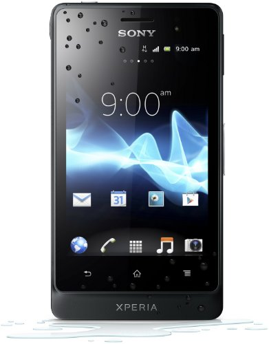 Sony Xperia go Smartphone (8,9 cm (3,5 Zoll) Touchscreen, 5 Megapixel Kamera, Android 2.3) schwarz Sony Outdoor Kamera