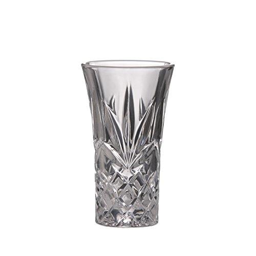 Brilliant-Ashford führen gratis Crystal Clear Shot Glas 2Oz (60ml) Set von 4 - Crystal Shot Glas Set