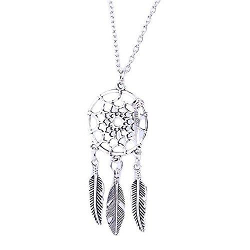5starwarehouse-argent-attrape-reves-collier-bijoux-boho-gypsy-boheme-ethnique-a077