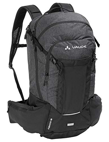 VAUDE eBracket 28, Hochfunktioneller All Mountain-Rucksack für den Einsatz auf dem eBike Rucksäcke20-29l, Black, one Size