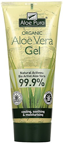 Pura Aloe Aloe Vera Haut Gel, 1er Pack (1 x 200 ml)