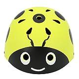 Lommer Casco Bici Bimbo, 50-54CM Beetle Forma Casco Protettivo Casco Helmet Caschi per Bambino per Bici...