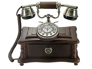 Téléphone nostalgie 1920 avec ancien sonnerie rrrring