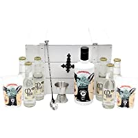 Santamanía Ginebra Premium Artesanal 100% natural. Lola y Vera Cofre Blanco Gin - 700 ml