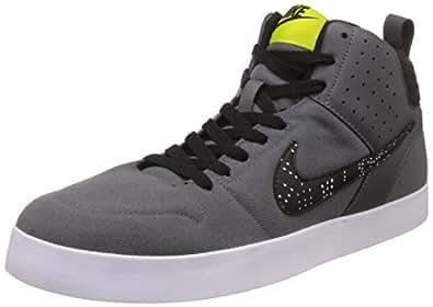 86e2ae463b60 Nike Men s LITEFORCE III MID DrkGry BrghtCactus-Blk-Wht Sneakers-10 ...
