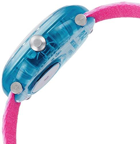 Flik Flak Mädchen Analog Quarz Uhr mit Stoff Armband FBNP081 - 3