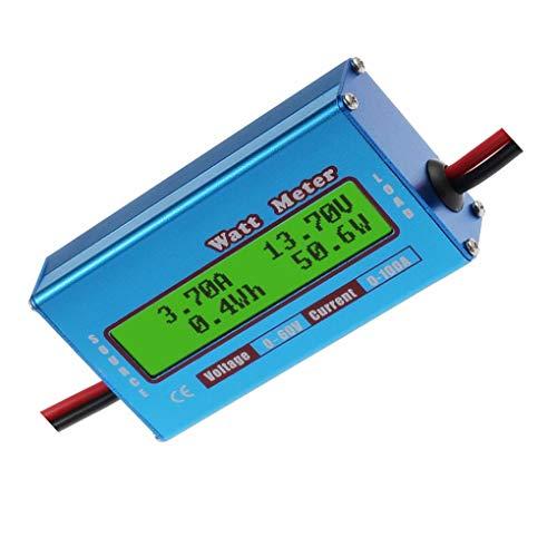 Descripción:vatímetro extremadamente útil. Más fácil de medir el flujo de corriente a jugar con un amperímetro regular.Precision Alu-Chrom resistor de detección de corriente, con la resistencia sólo 0.001 Ohms y los circuitos que extrae solamente 7 m...