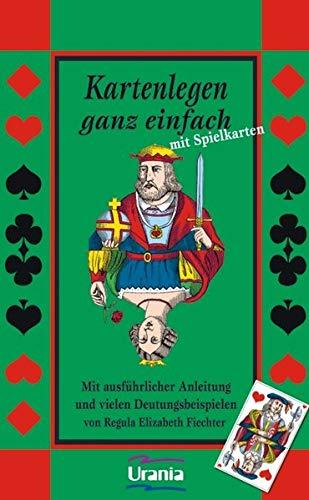 Kartenlegen ganz einfach mit Spielkarten: Set mit Buch und Karten