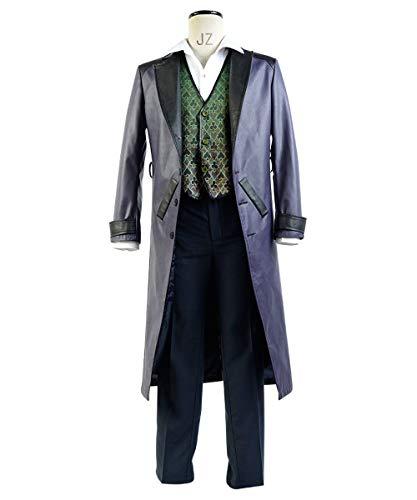 MingoTor Superheld Anzug Outfit Cosplay Kostüm Herren - Joker Arkham Origins Kostüm