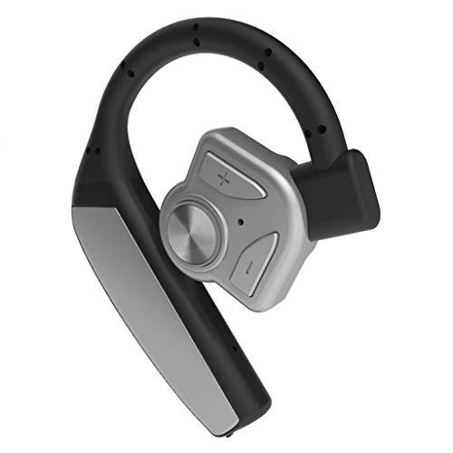 TAUHAN Batería reemplazable Auriculares inalámbricos Bluetooth, Auriculares ergonómicos montados en el oído, Mini conducción ultrapequeña, Espera Larga, Contestación de Llamadas
